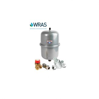 Unvented Water Heater Accessory Packs Range